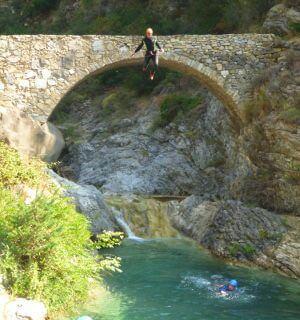 Bridge canyon Barbaira - Rocchetta Nervina