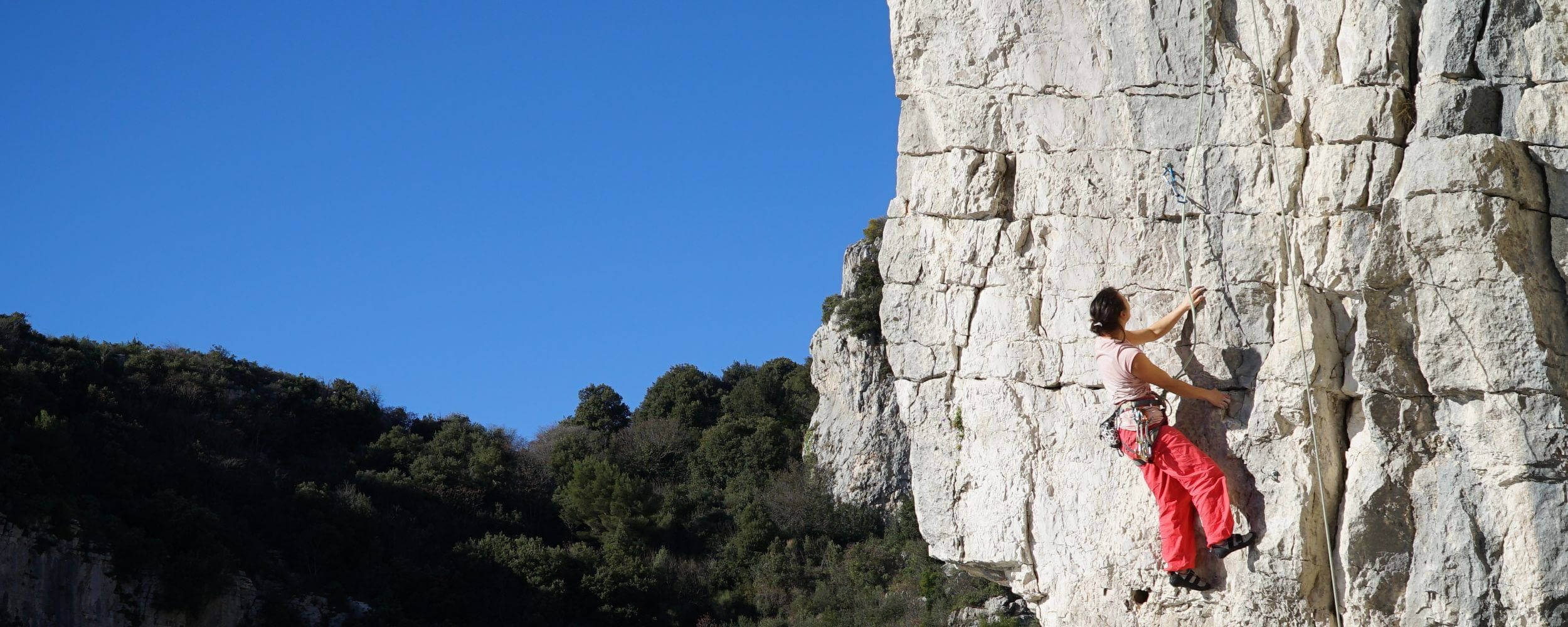 Rock Climbing Nice - La Turbie