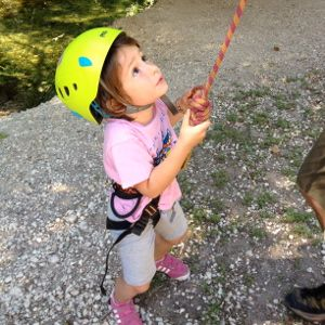 Rock Climbing for kids south of France