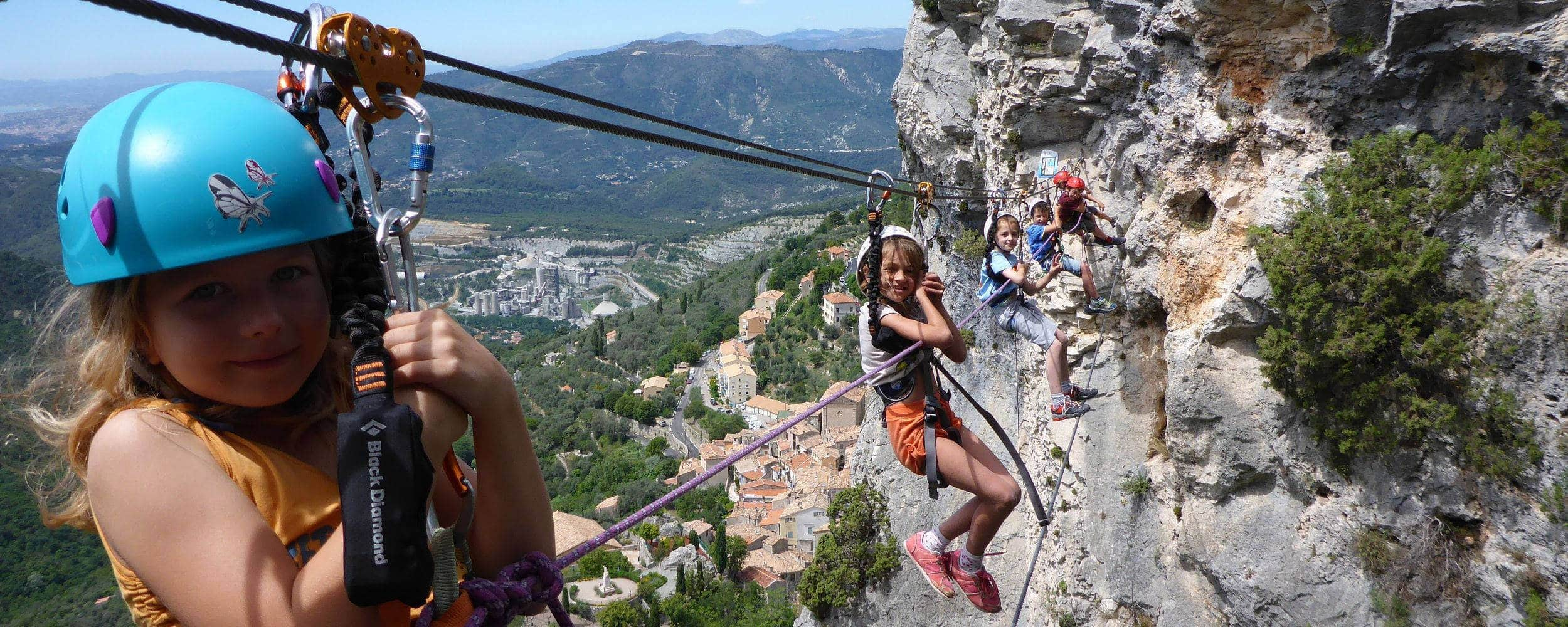 Via Ferrata Kids Cote d'Azur - Nice