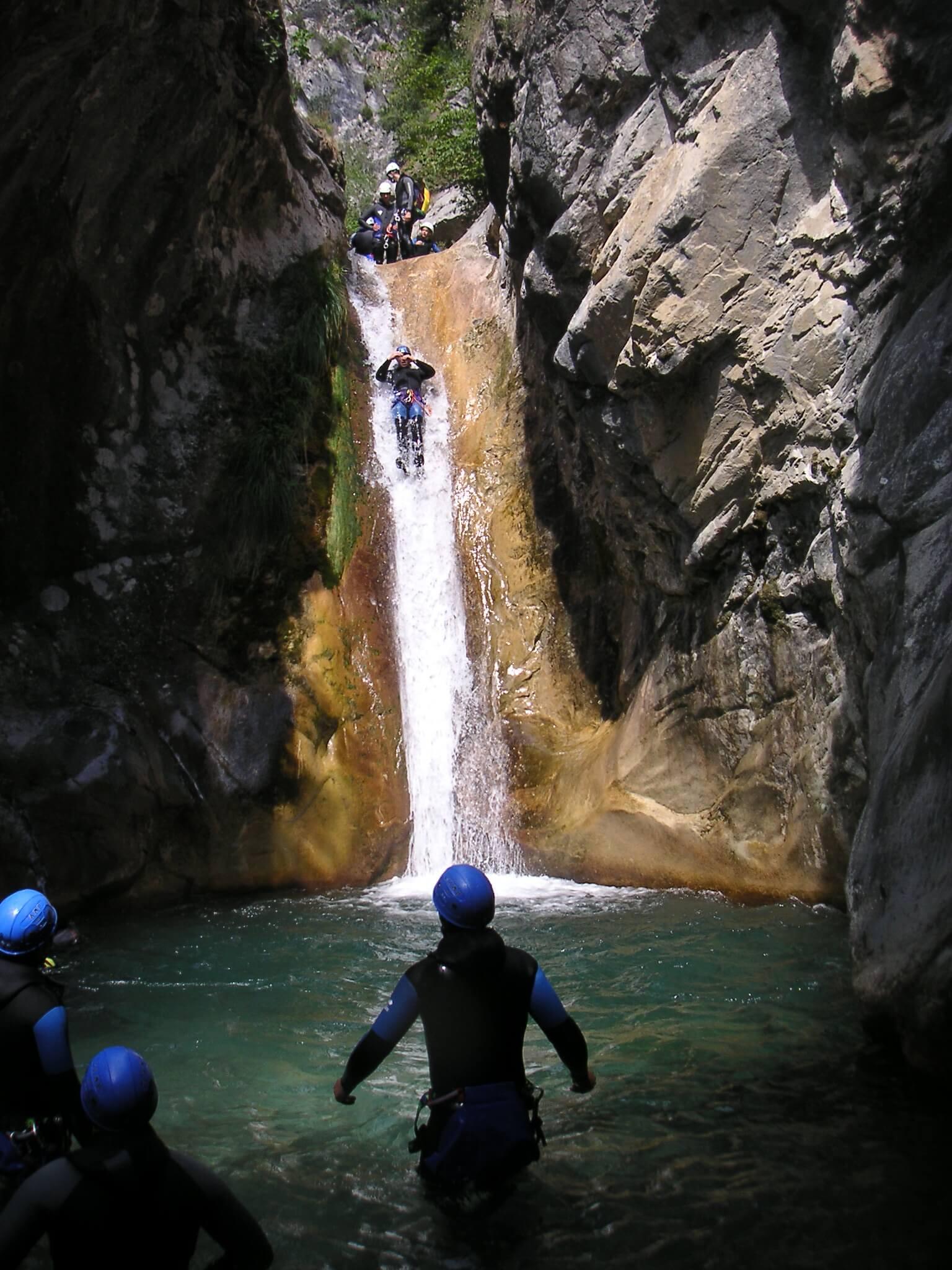 Canyoning Maglia - Canyoneering Breil Roya Valley - South ...