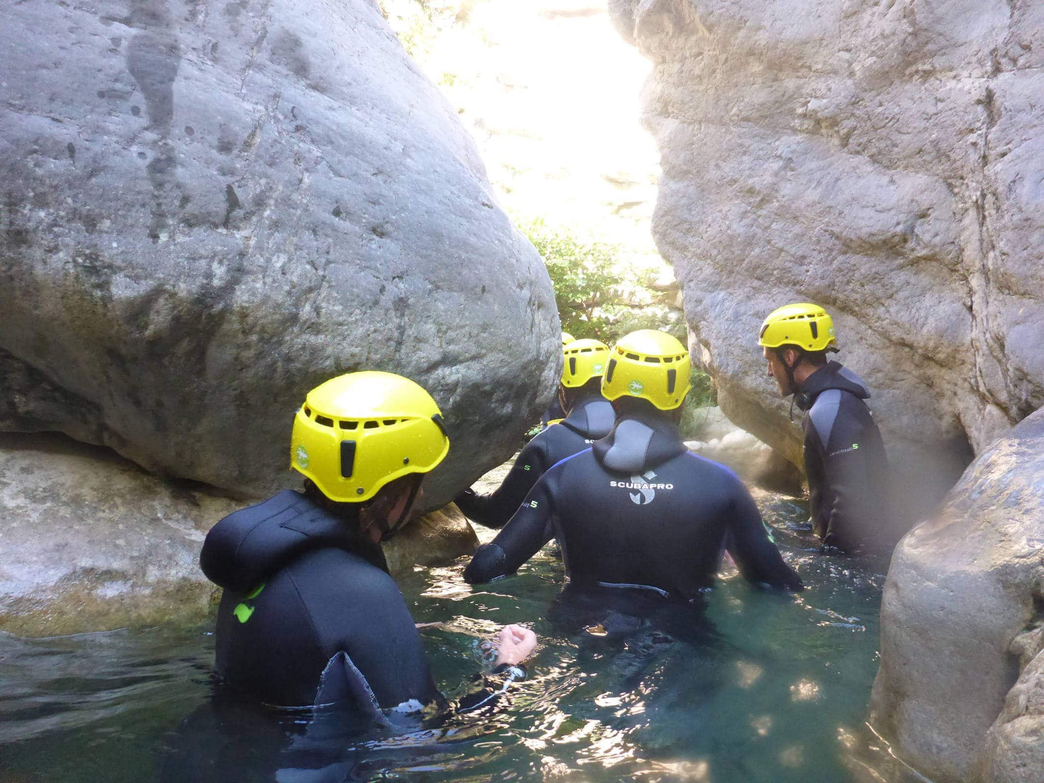 Canyoning of Cramassouri - Lesgeckos