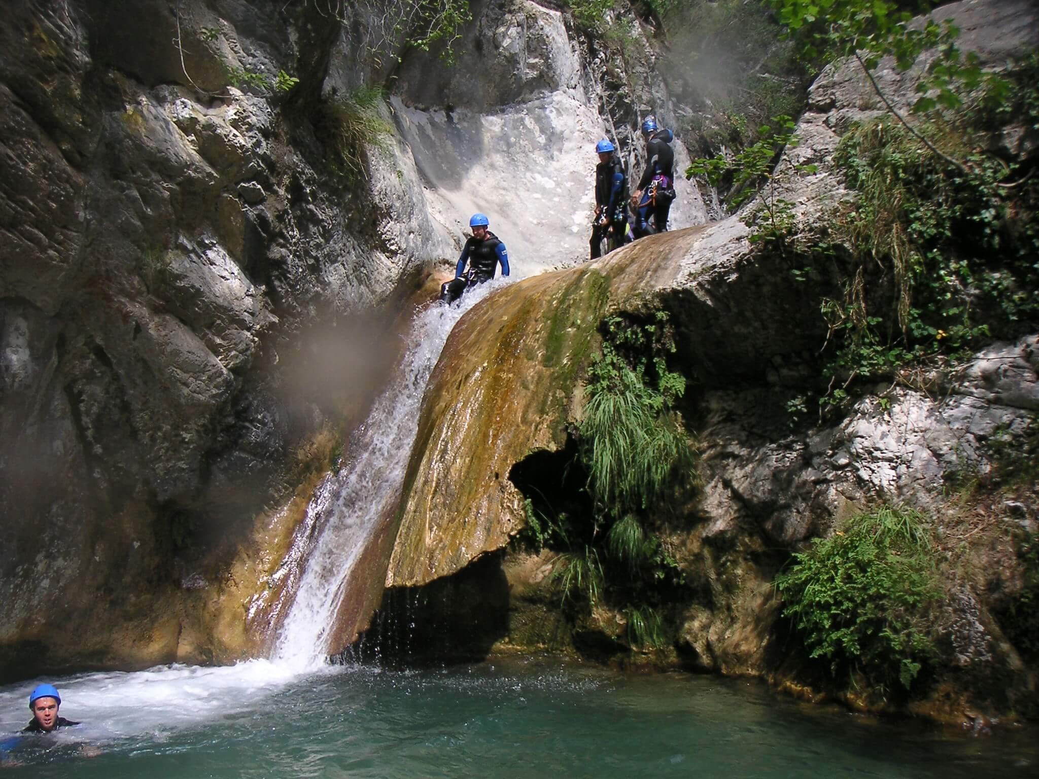 Canyoning Maglia - Roya - Lesgeckos