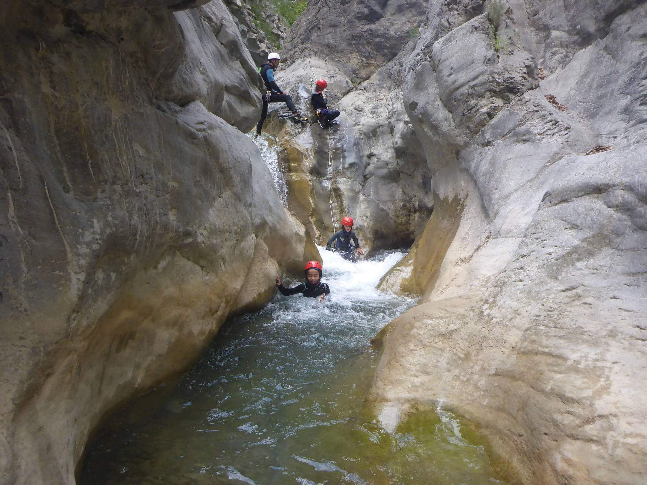 Canyoning of Cramassouri - Lesgeckos