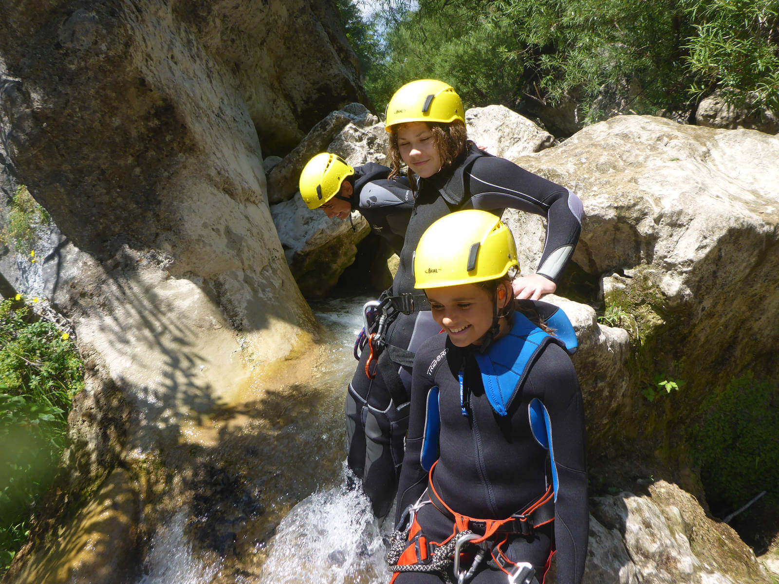Canyoning Gours du Ray - French Riviera - Lesgeckos