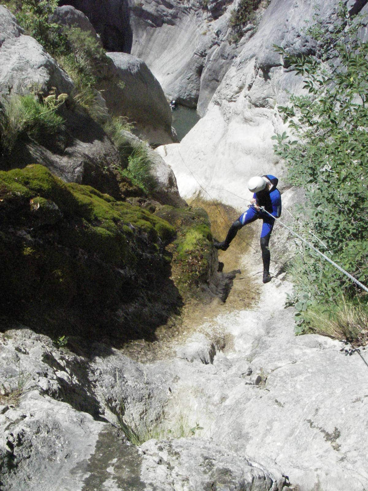 Canyoning Morghe Maglia - Roya - Lesgeckos