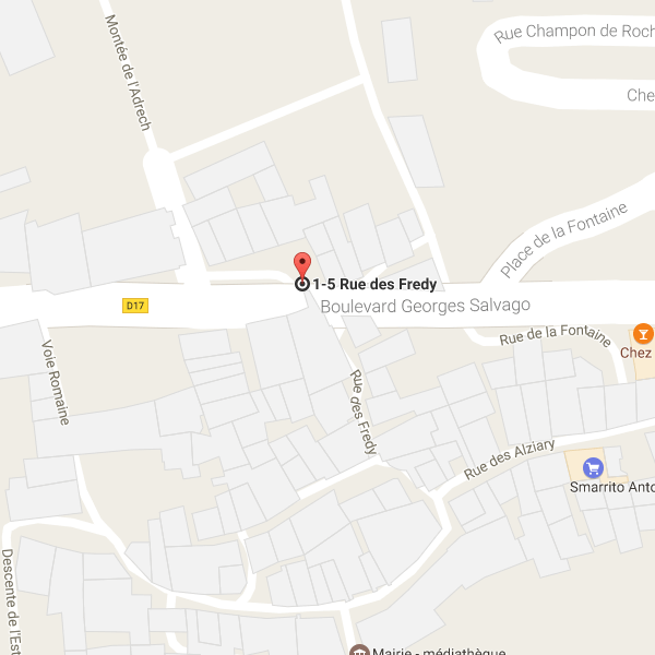 Google Map canyoning Lesgeckos - Cuebris - Riolan
