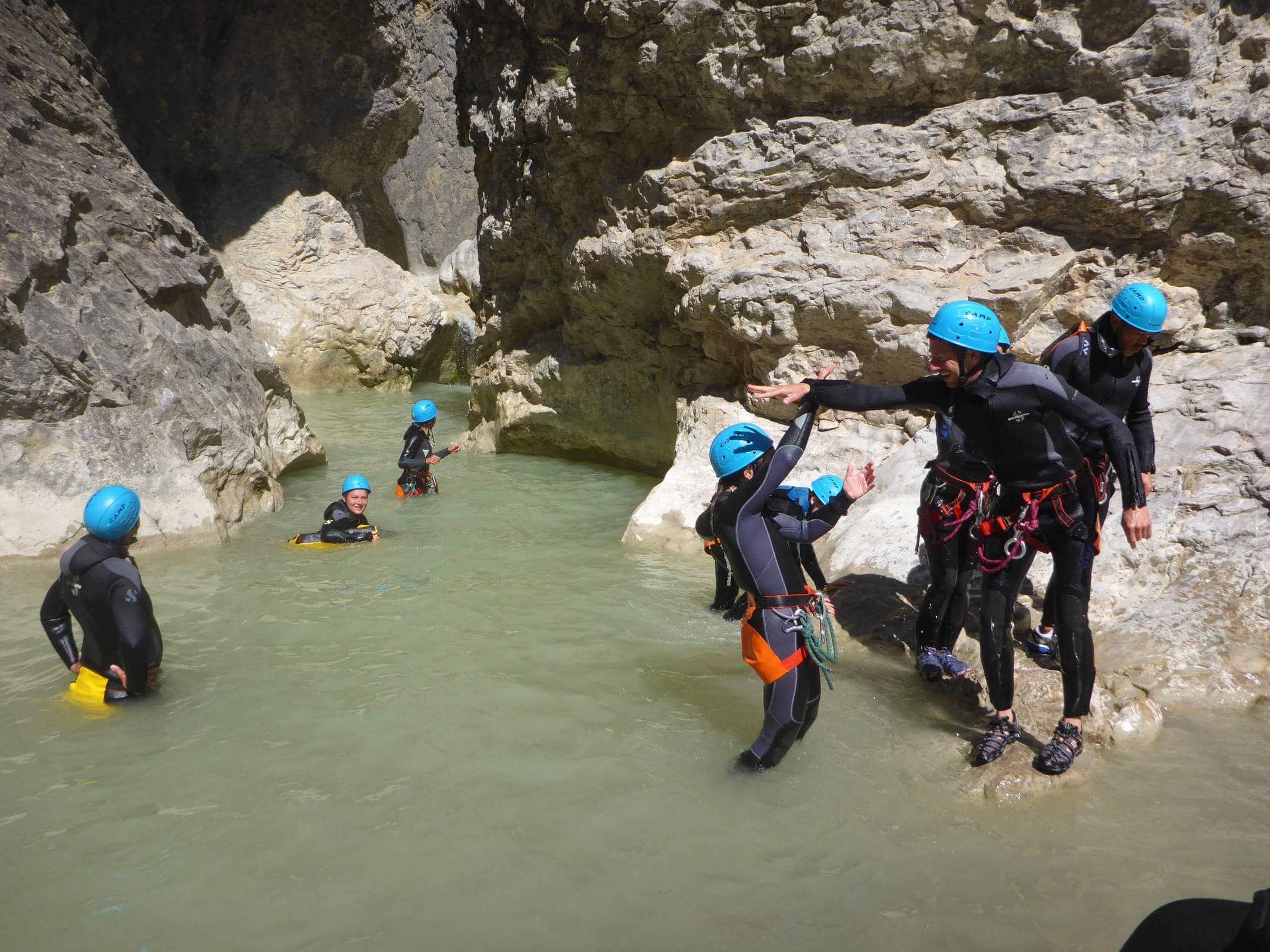 Canyoning of Riolan - Esteron - Lesgeckos