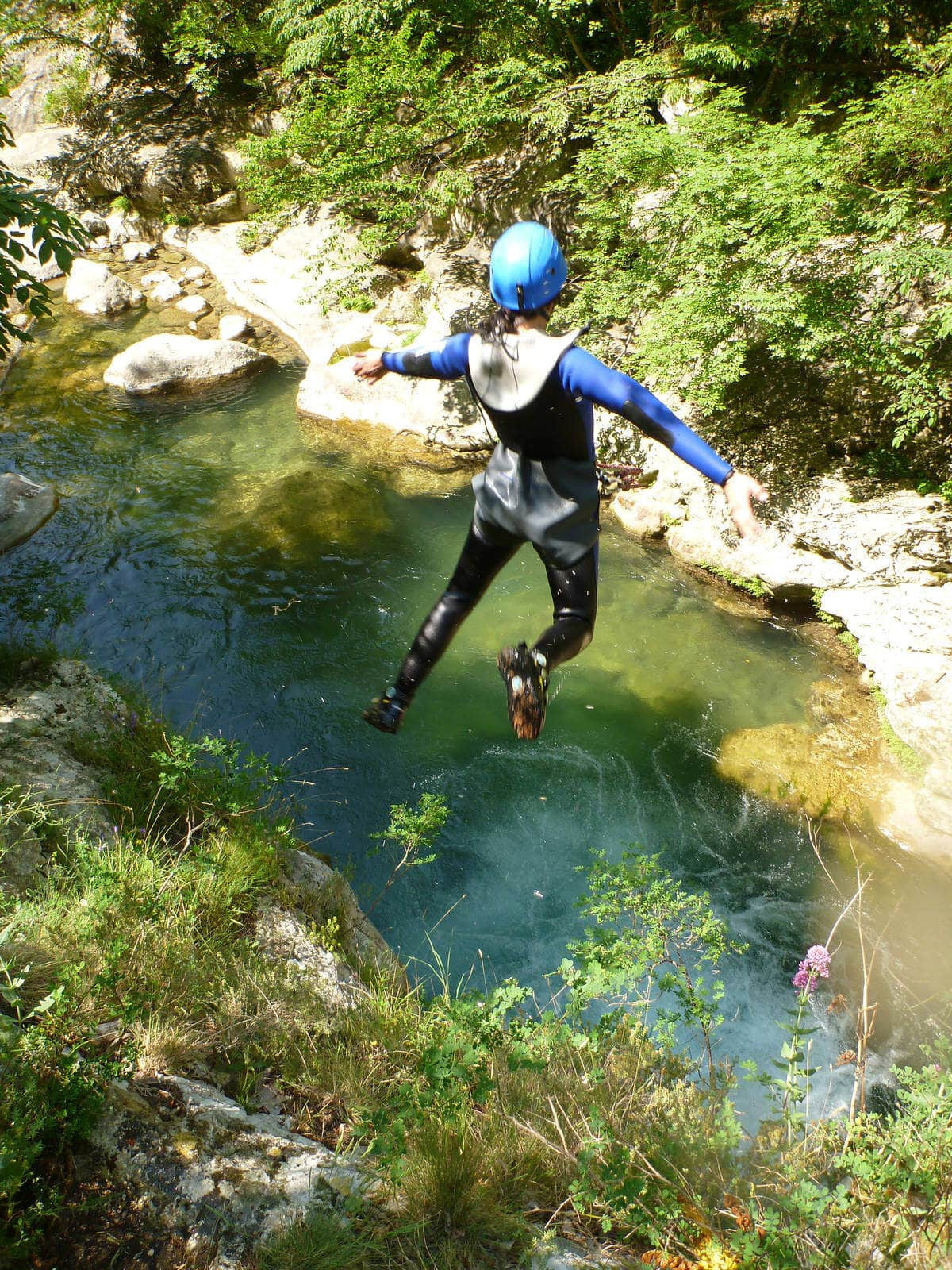 Canyoning in the Gorges du Loup - Water Hike - Lesgeckos