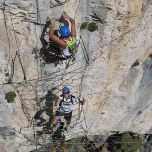 Via Ferrata on the French Riviera - Peille La Turbie