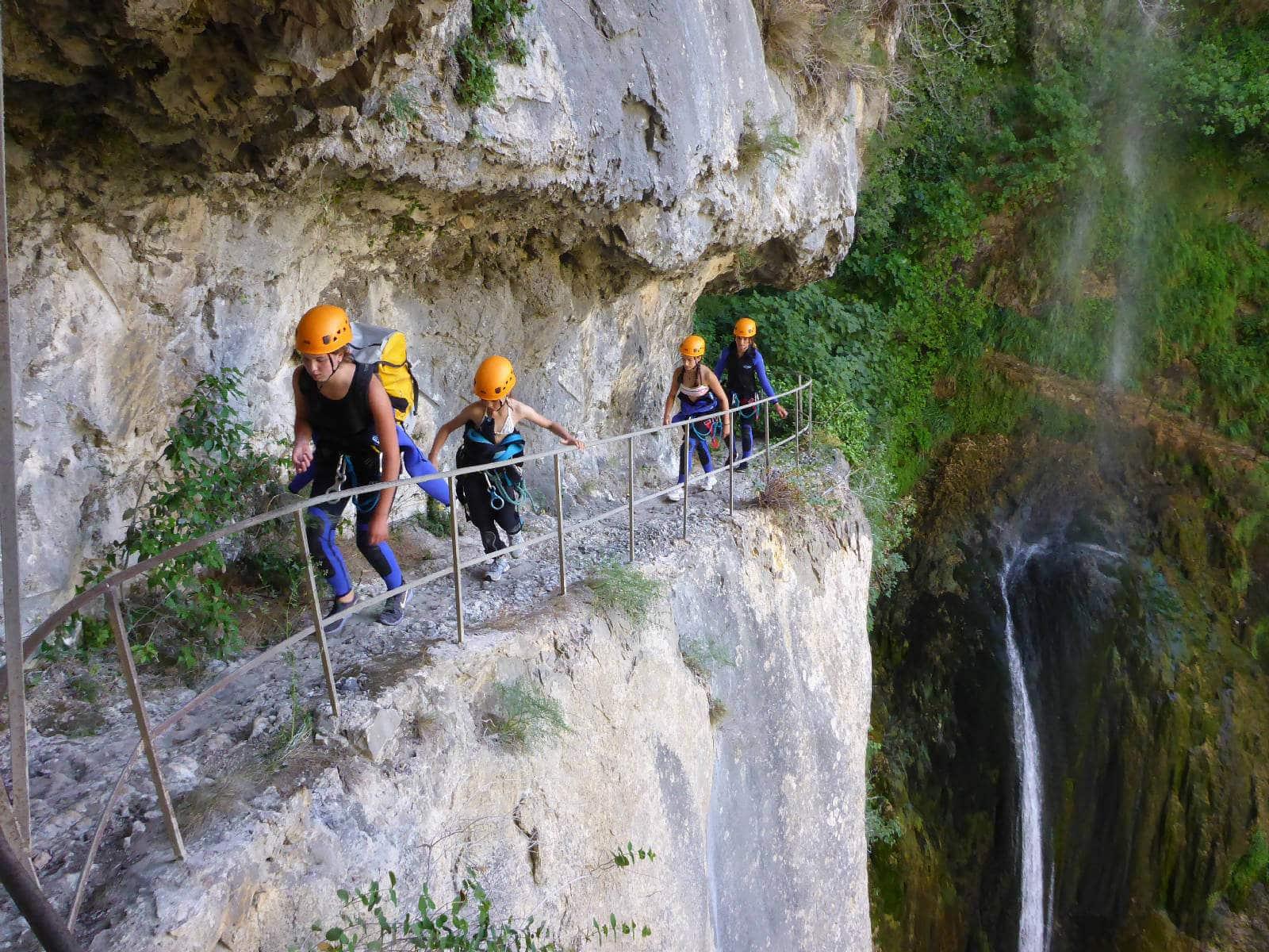 Canyon du Bès de Courmes - Loup - Lesgeckos