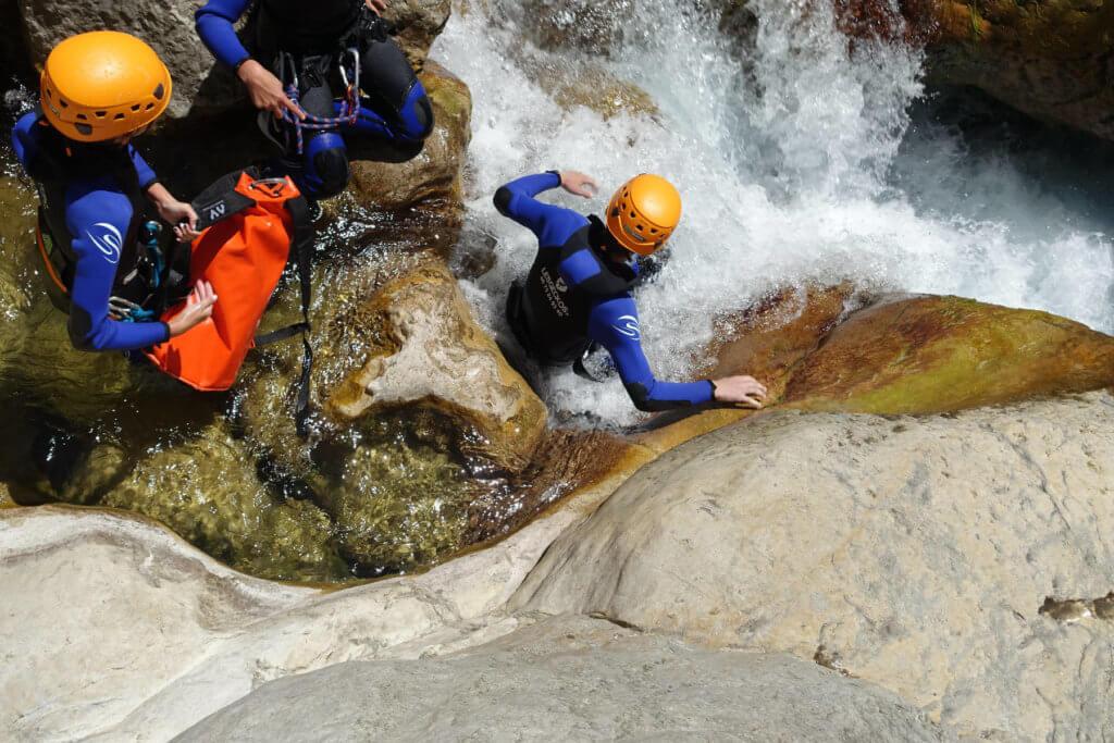 Canyoning Gorges du Loup - Lesgeckos