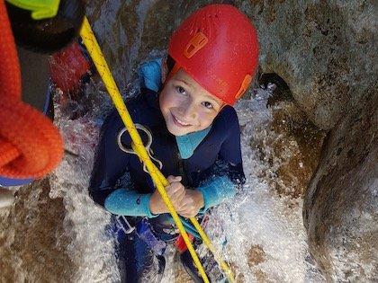 Canyoning des Gorges du Loup - Lesgeckos