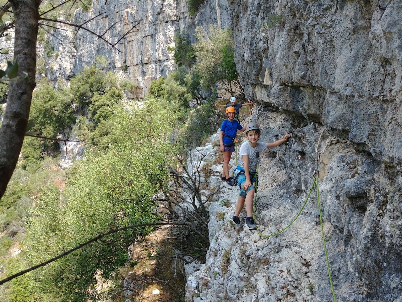 Via Cordata of La Colle sur Loup - French Riviera