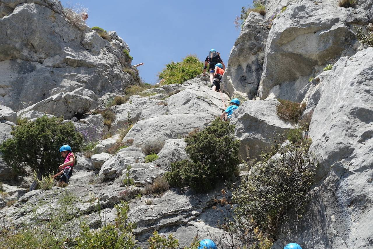 Via Cordata Rockclimbing - Saint Jeannet - French Riviera