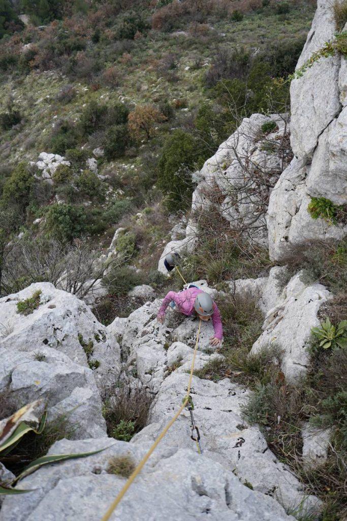 Via Cordata of Vence - French Riviera