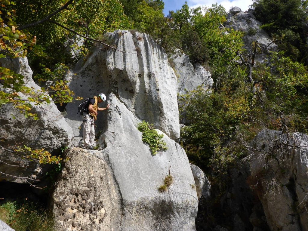 Dry Canyon of Greolieres - Loup Valley - French Riviera
