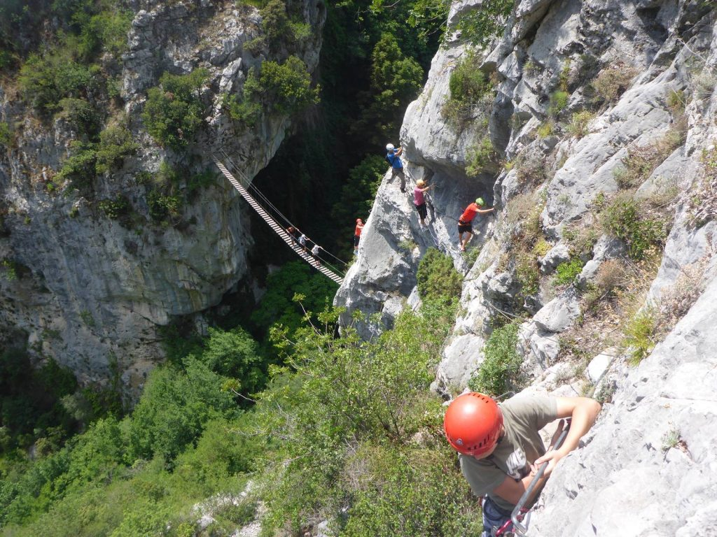 Via Ferrata of Peille - French Riviera - Monaco