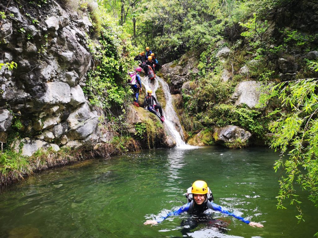 Canyoning Gourdon - Loup Valley - Grasse - Cannes