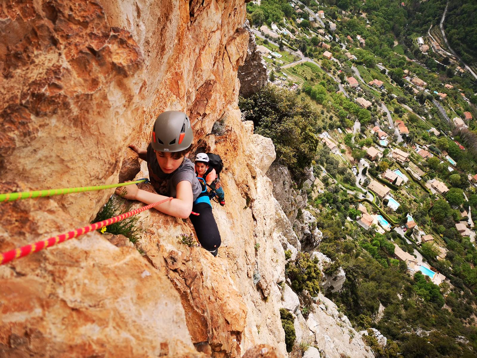 Multi Pitch Rock Climb on the French Riviera - LESGECKOS