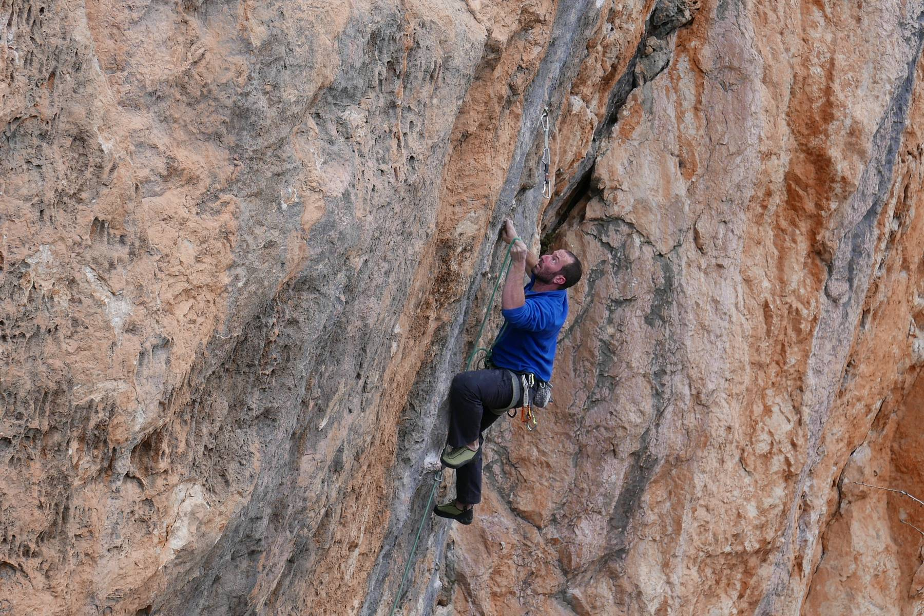 Rock Climbing course on the French Riviera - LESGECKOS