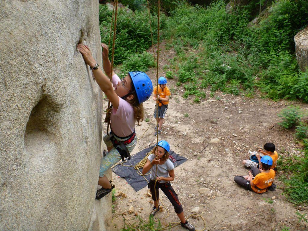 Rock Climbing course on the French Riviera - LESGECKOS