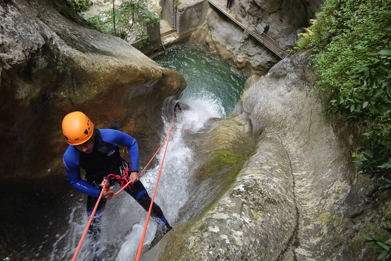 Canyoning Imberguet - Vesubie Valley